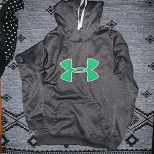 Under Armour Grey Hoodie-Sweatshirt